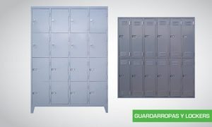 Guardarropas y Lockers
